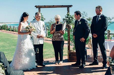 Christine Hammond CMC, celebrant Kimberley Weddings, Broome