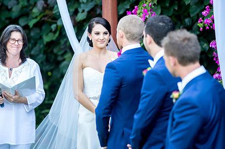 Kerry Marvell wedding celebrant, Kimberley Weddings, Cable Beach