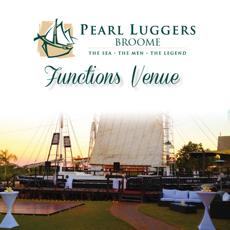 Pearl Luggers Venue, Kimberley Weddings