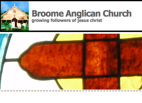 Broome Anglican Church, Kimberley Weddings