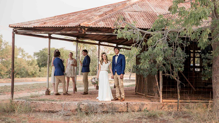 Yane Sotiroski, wedding story of Kerri and Wade Furtado. Kimberley Weddings