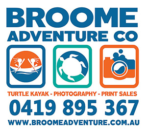 Broome Adventure Co. Turtle Kayak tours, Broome